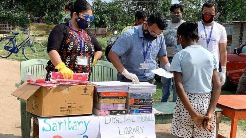 giving books