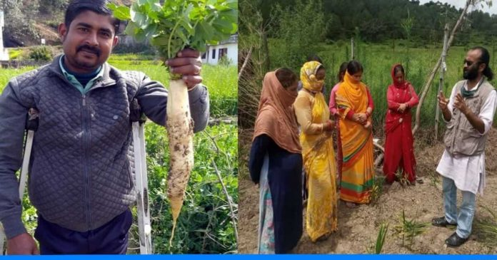 Ramesh Bist connects rural people with farming