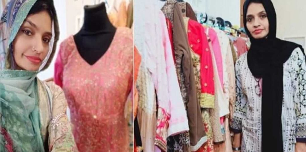 Girl gives free uniform to poor marring girls