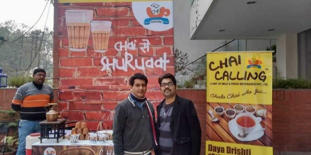 Chai calling startup by two engineers
