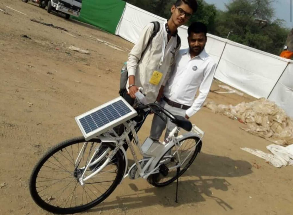 solar electric cycle