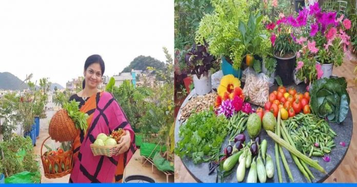 Madhvi teaches organic farming
