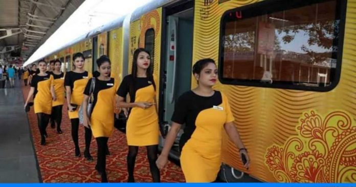 Tejas train about to end