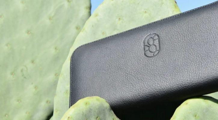 Leather from cactus