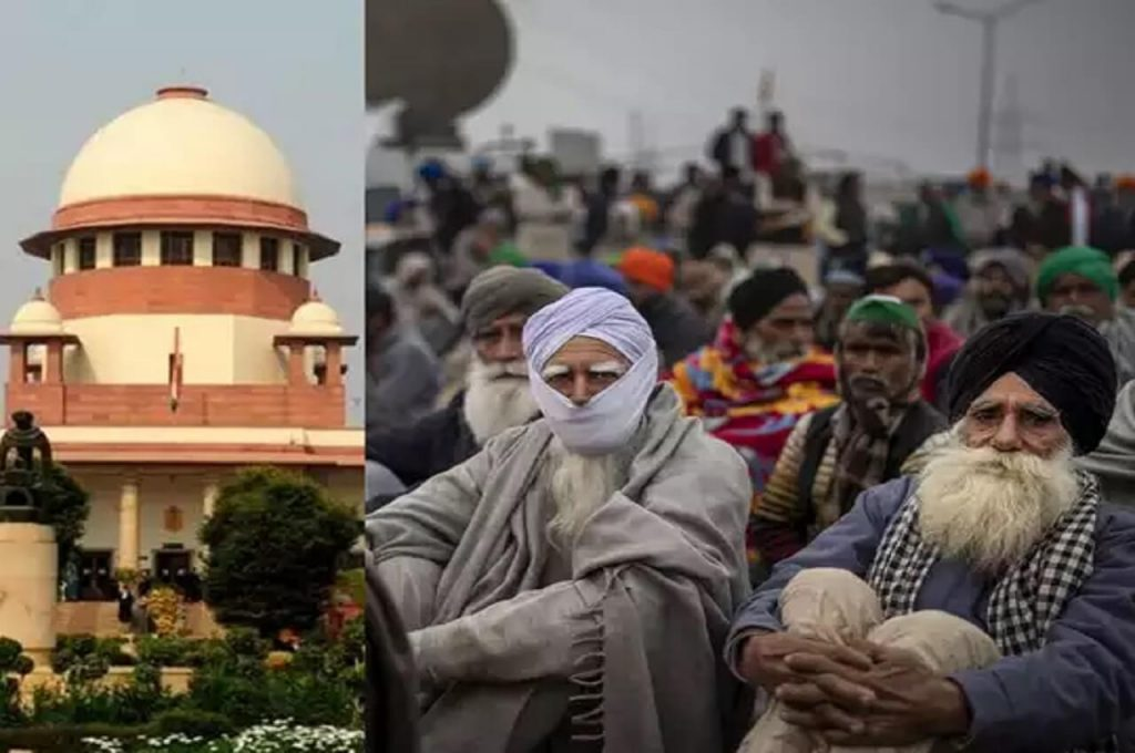 Supreme court intervened in farmer protest
