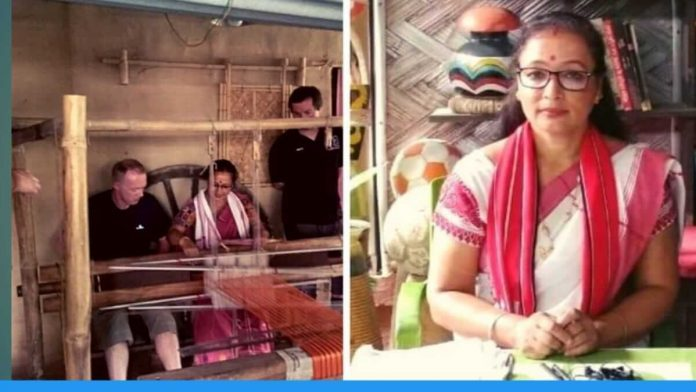 Rupjyoti Saikia Gogoi launches her venture 'Village Weaves' in Assam to upcycle plastic waste into traditional handloom items