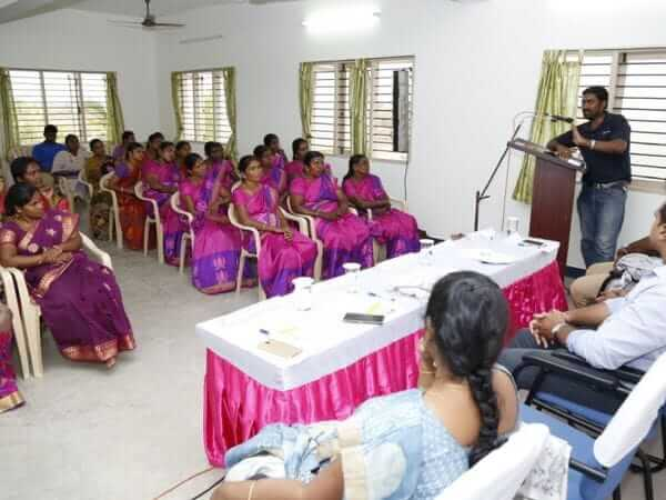 Through startup of Organic Sanitary Pads from home this girl is giving livelihood to 30 women