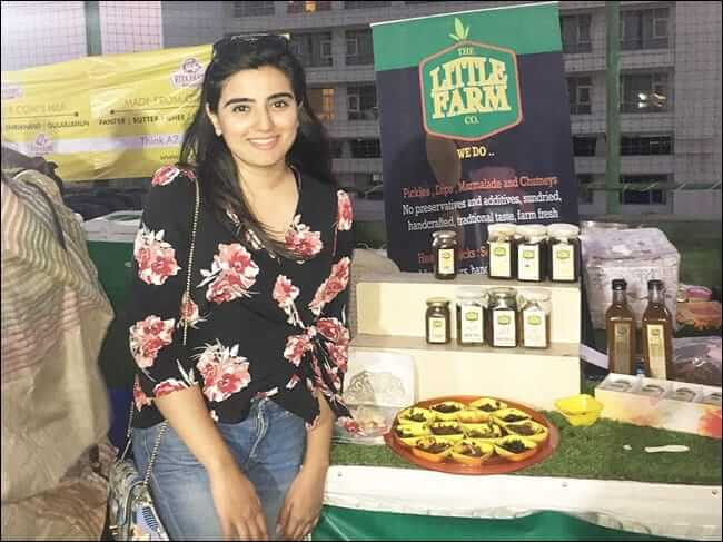 Niharika Bhargav starts her own pickle company the little farm co. after returning from London