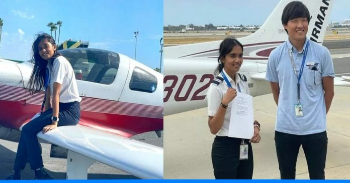 Maitri Patel becomes Youngest Commercial Pilot of india.